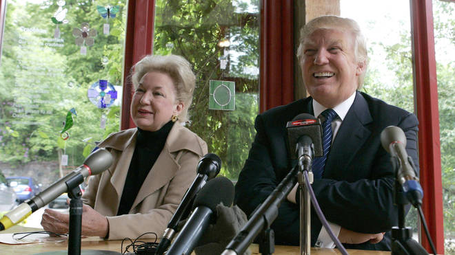 Maryanne Trump Barry was secretly recorded by her niece Mary Trump