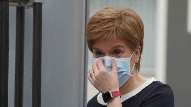 First Minister Nicola Sturgeon set out the timeline after a SGORR meeting on Sunday