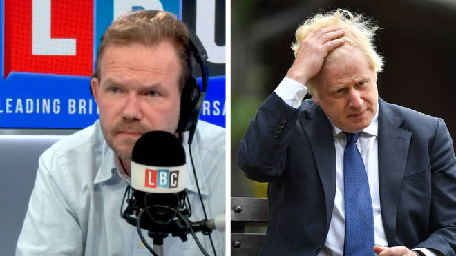 """James O&squot;Brien pointed out all the times Boris Johnson has """"taken personal charge"""" of an issue"""