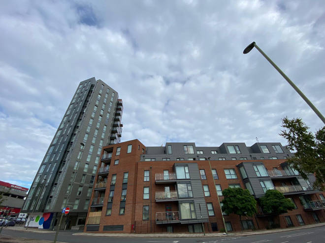 """Zenith House, where flats are now """"worthless"""""""
