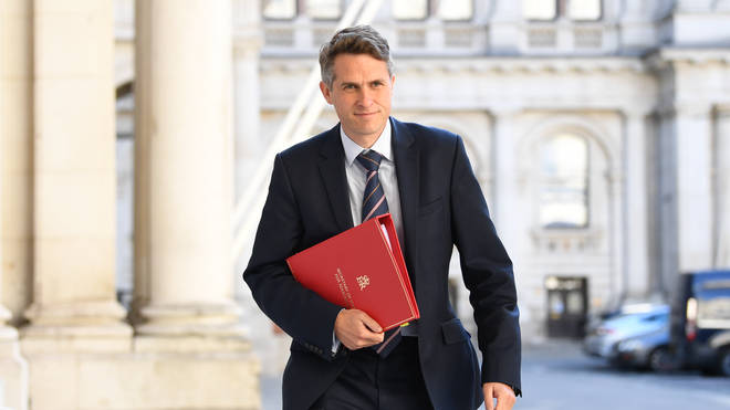 File photo: Gavin Williamson had more than enough in his in-tray even before last week's exams fiasco