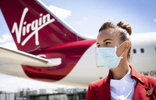 Virgin Atlantic will be offering free Covid-19 insurance