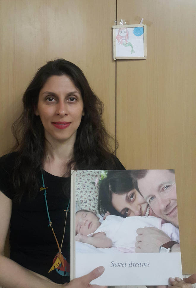 Nazanin Zaghari-Ratcliffe has been in iran since taking her baby to meet her parents in 2016