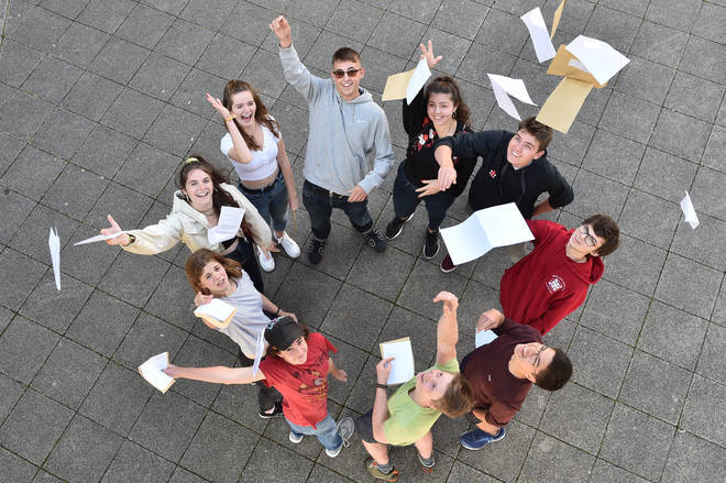 Thousands of BTEC students will start to get their results from this morning.