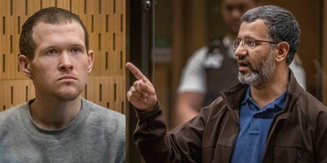 """Brenton Tarran (L) was branded a """"loser"""" by survivor Mirwais Waziri (R)"""