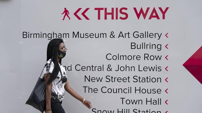 Birmingham will tighten lockdown restrictions from Wednesday