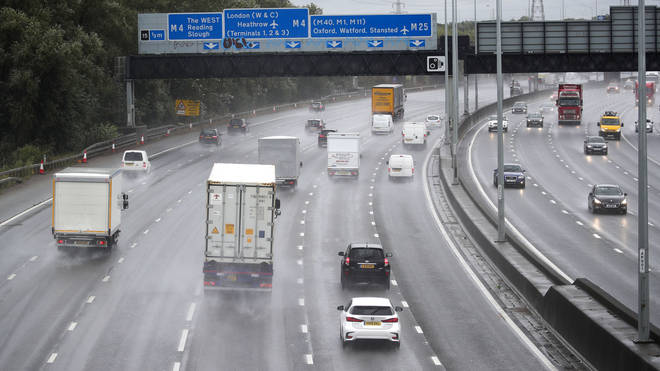 Forecasters have warned of possible travel disruption
