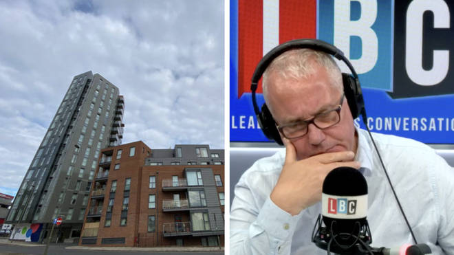 """Caller Joanna told Eddie Mair her daughter was """"absolutely terrified"""" that her property is unsellable"""