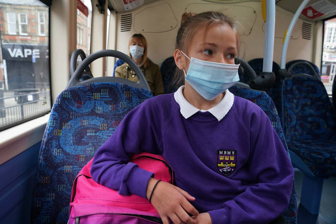 The government has U-turned over face masks in schools
