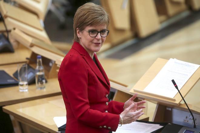"Nicola Sturgeon has said she is ""deeply saddened"""