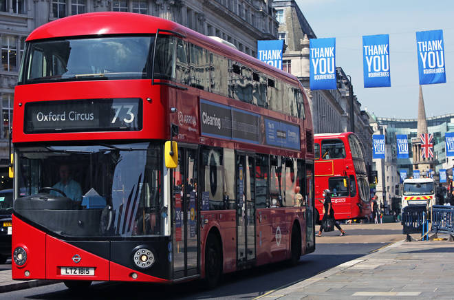 Dozens of extra buses will hit the road in London to help get children back to school