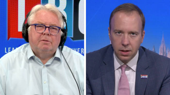 Nick Ferrari asked Matt Hancock if £13 is enough to make people self-isolate