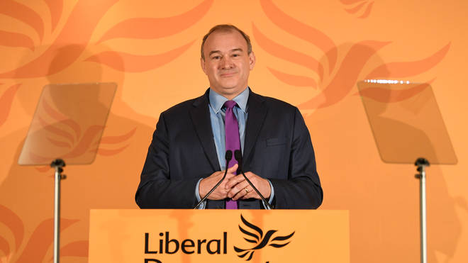 Sir Ed Davey won a large majority of votes to become the Lib Dems fifth leader in half a decade