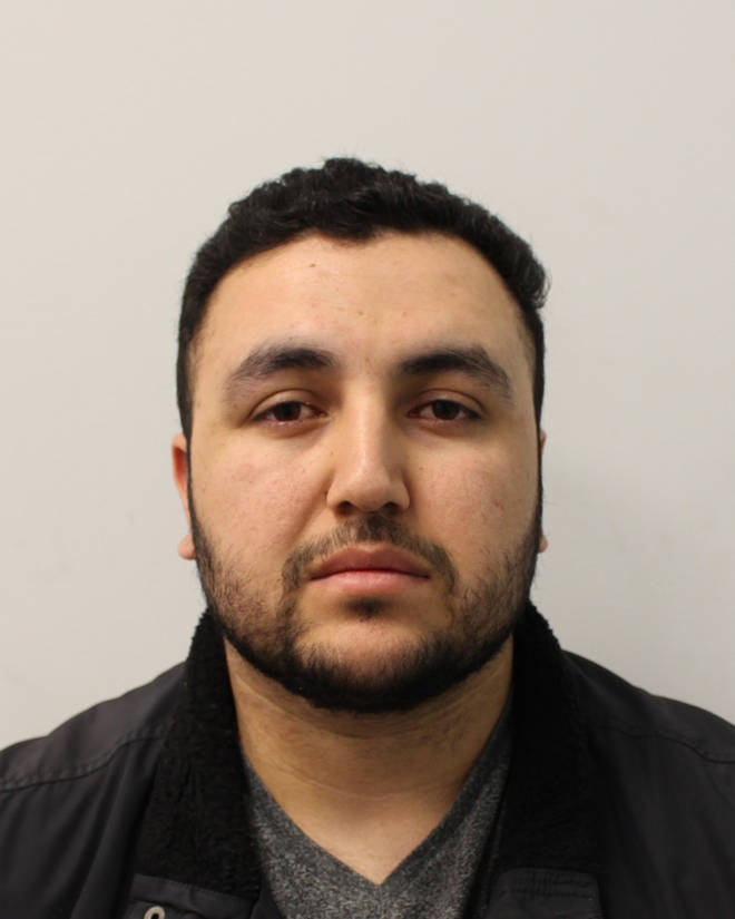 Imran Safi, 26, is being hunted by police