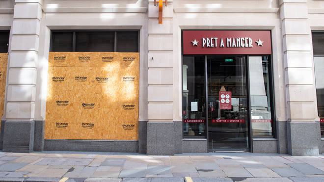 Pret a Manger has axed 2,800 positions from its workforce