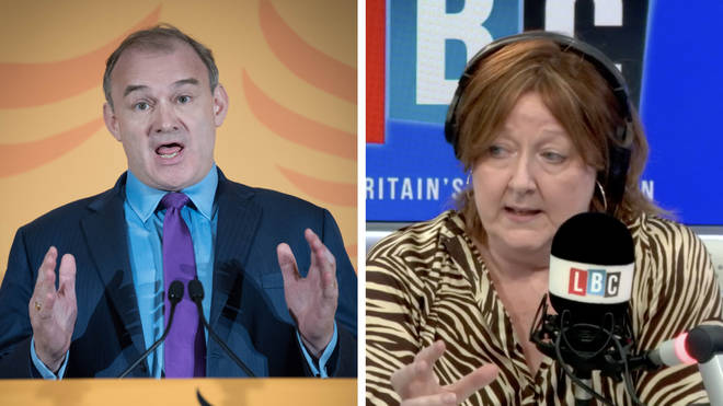 """Another middle-aged man"": Shelagh Fogarty questions Lib Dem MP on new leader Sir Ed Davey"