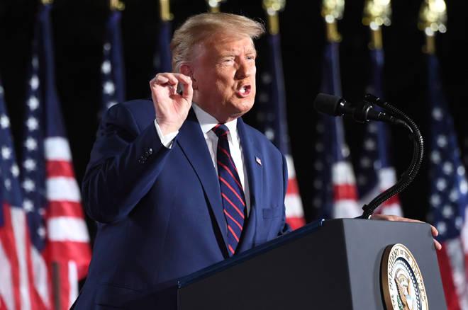 "President Trump has warned Democratic challenger Joe Biden will ""demolish"" the American Dream"