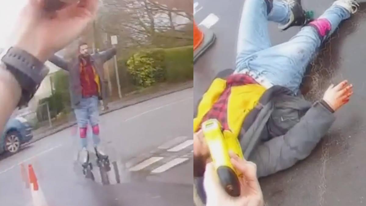 Insane Video Shows Cops Attack Fellow Cop, Handcuff