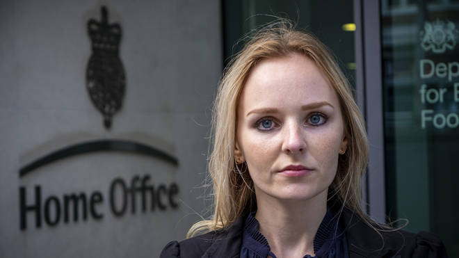 Lissie Harper, the widow of Pc Andrew Harper, who is due to meet the Home Secretary next month in an effort to harness major political support