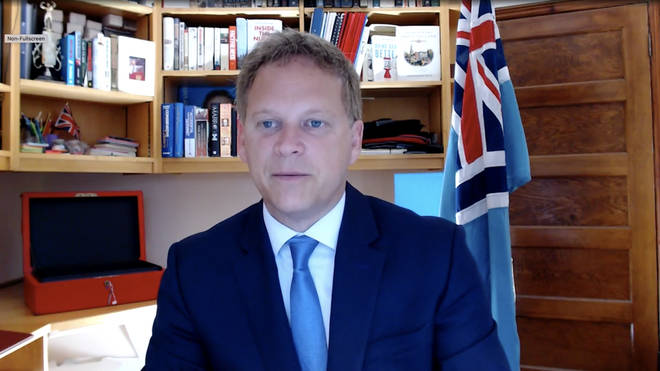 Grant Shapps has said the government wants people to get back to work
