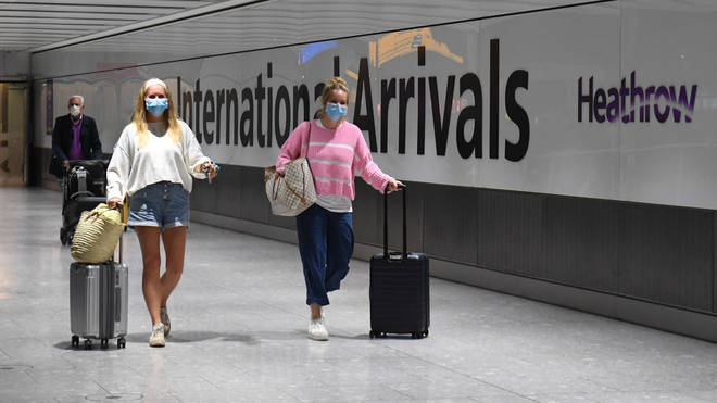 People who don't quarantine on arrival to the UK could be given a criminal record