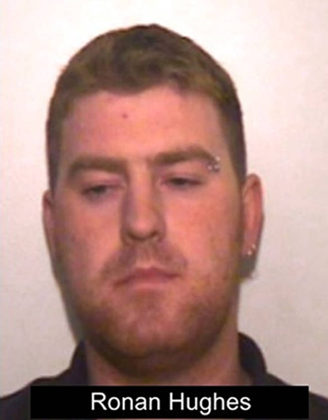 Ronan Hughes pleaded guilty to manslaughter