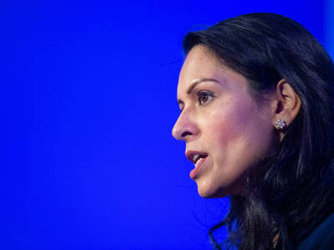 Priti Patel said the Metropolitan Police have responded to more than 1,000 unlicensed music events since June