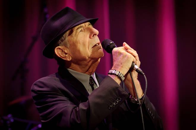 Leonard Cohen died in 2016