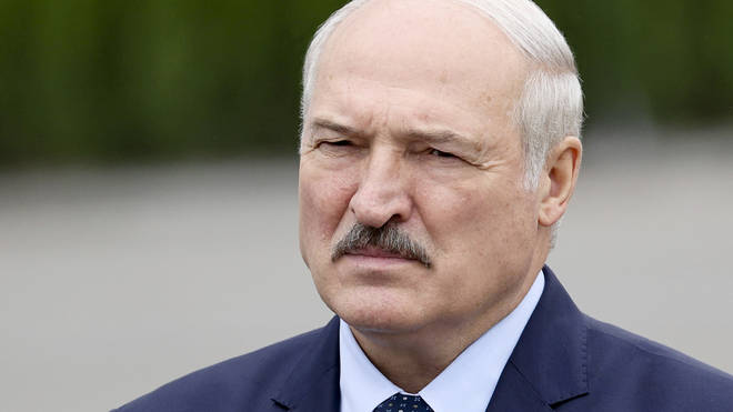President Alexander Lukashenko, who has ruled the nation in Eastern Europe with an iron fist since 1994
