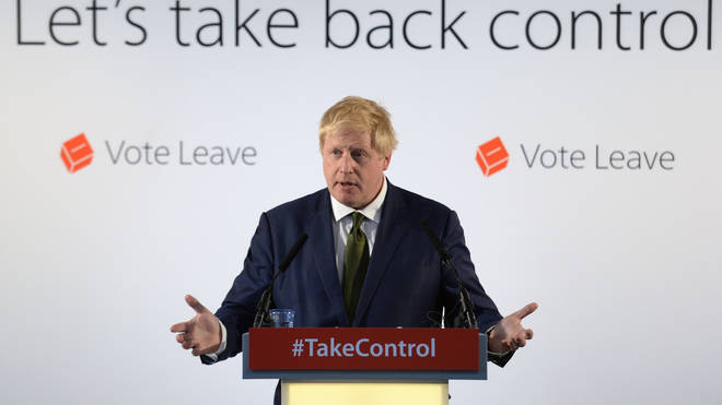 Prime Minister Boris Johnson and pro-Brexit colleagues expressed dismay over Electoral Commission investigations into Vote Leave
