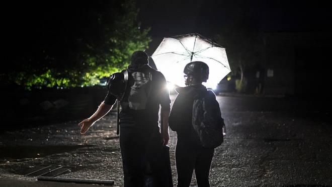 Protests in Portland have turned violent