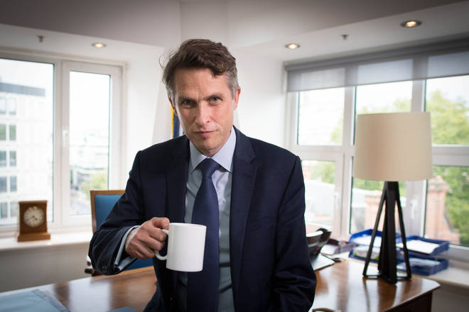 Education Secretary Gavin Williamson has insisted it is safe to go back to school