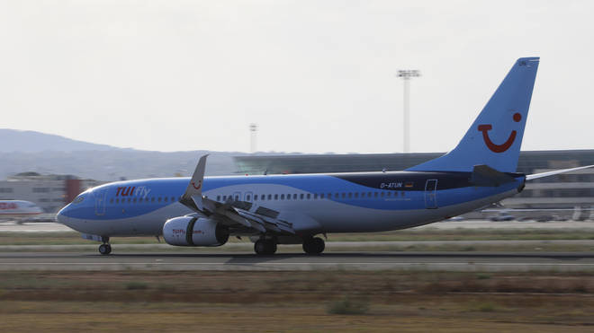 16 passengers on board a Tui flight have since tested positive for coronavirus
