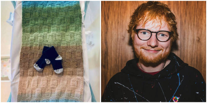 Ed Sheeran has announced the birth of his daughter