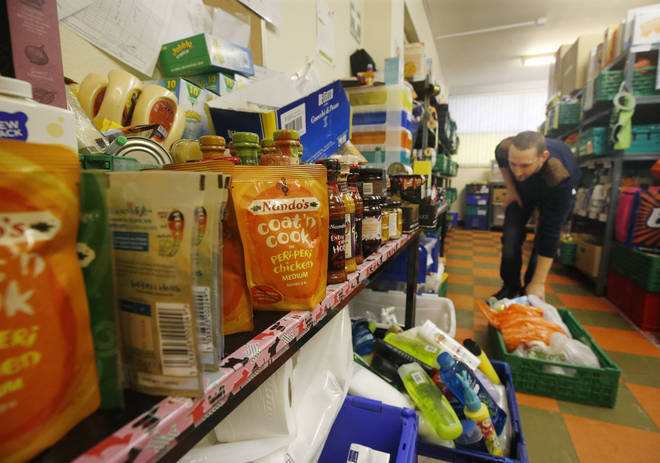 Food giants have been brought together to help end food poverty