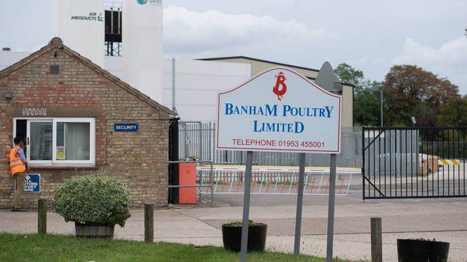 Banham Poultry in Attleborough was forced to partially close last week