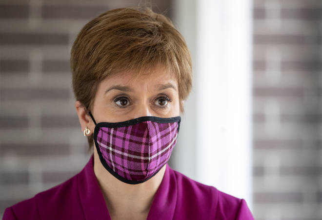 The first minister said coronavirus still remains Scotland's top priority