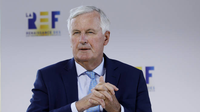 Mr Barnier said it was the UK's 'responsibility' to make a compromise or else risk a no-deal Brexit