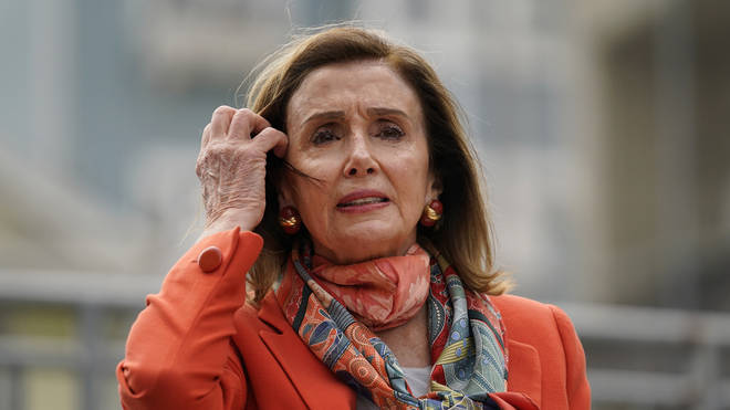 Nancy Pelosi has come under fire after being filmed in a hair salon without wearing a mask