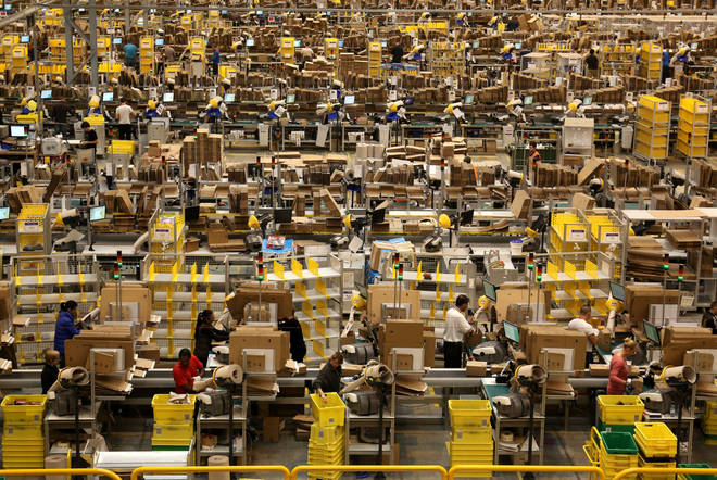 Amazon will have hired 10,000 new members of staff this year