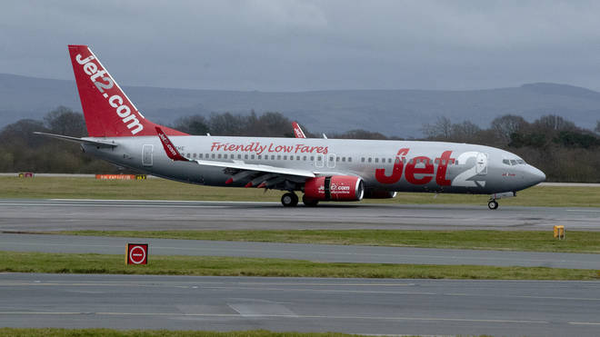 Jet2 said affected customers would be able to rebook without being charged an admin fee