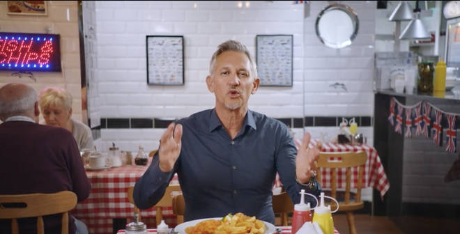 """""""Britain wouldn&squot;t be Britain without refugees"""" - Gary Lineker in new video"""