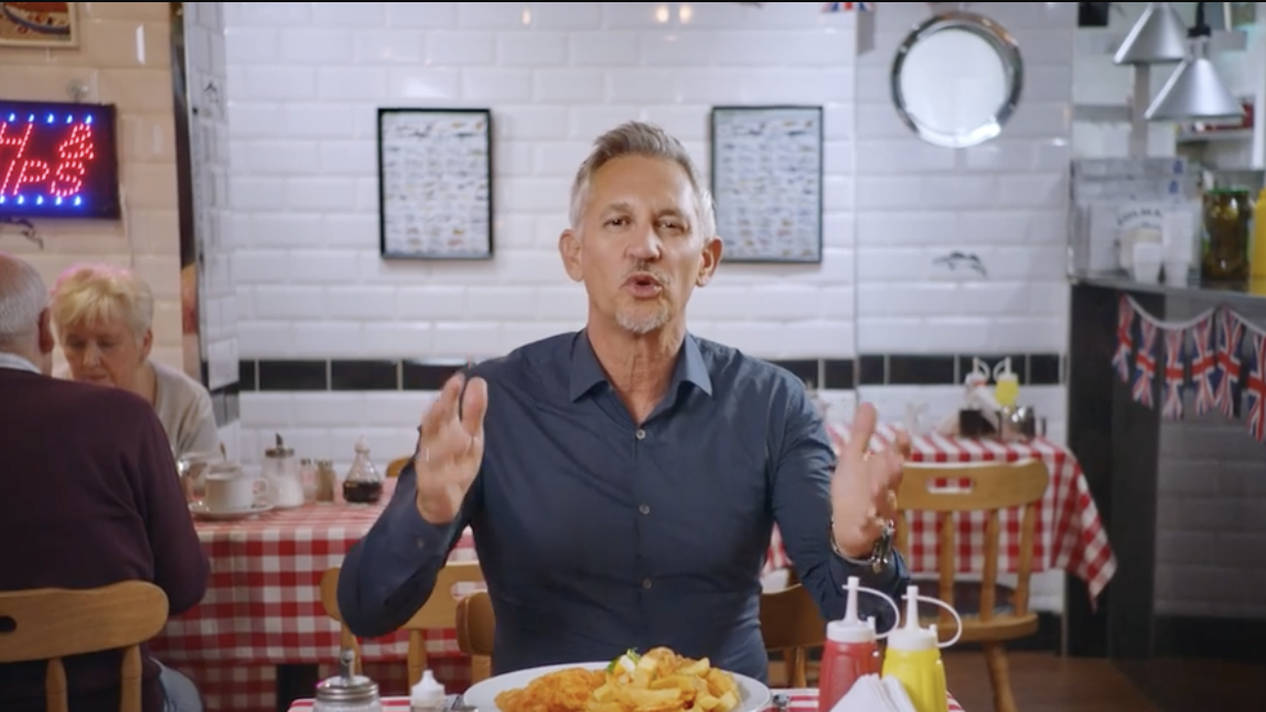 "Britain wouldn't be Britain without refugees"" - Gary Lineker in new video - LBC"
