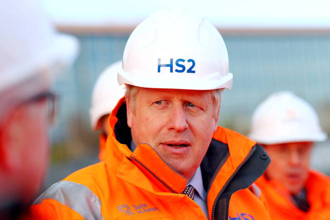 "Boris Johnson is expected to attend a ""shovels in the ground"" event marking the formal start of HS2&squot;s construction"