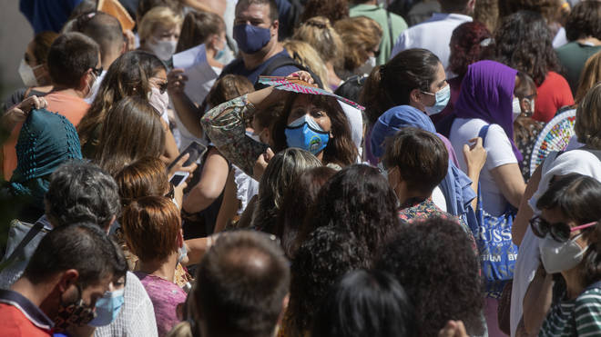 Almost a third of Spain's new infections have been traced back to the capital