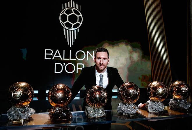 Messi has won the all-time highest number of Ballon d'Ors
