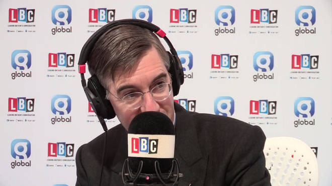 Jacob Rees-Mogg speaking to Nick Ferrari from the Conservative Party Conference