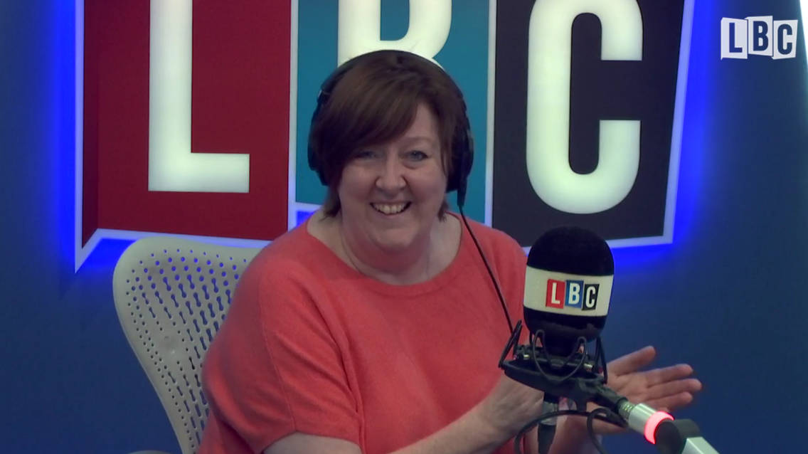 Shelagh Fogarty's Brilliant Response To Caller Who Won't Let Her