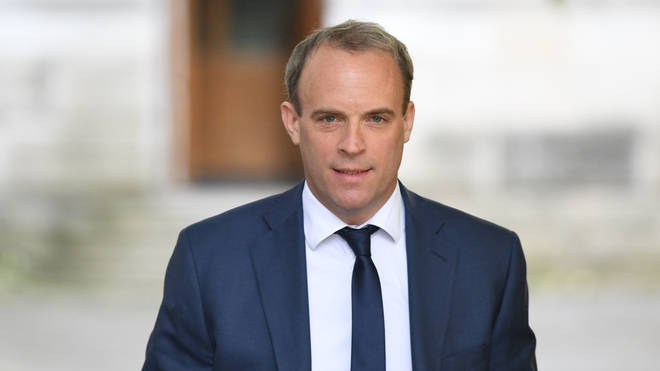 Dominic Raab said a trade deal is 'there for the taking'