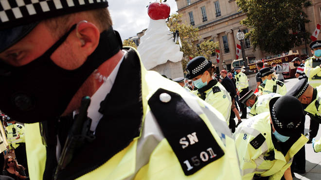 Police forces have reported a rise in attacks in the first months of lockdown